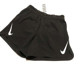 Nike Running Shorts AeroSwift 2-in-1 Small Black
